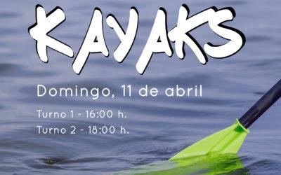 El CJCE organiza una actividad de kayaks por el Día Internacional del Deporte