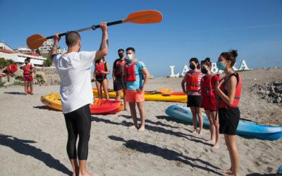 Kayaks por el Día del Deporte